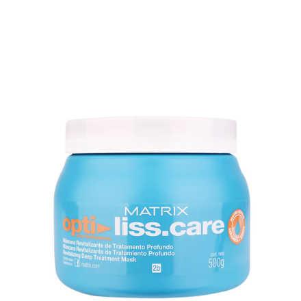 Matrix Opti Liss.Care Máscara Revitalizante de Tratamento Profundo - Máscara de Tratamento 500g