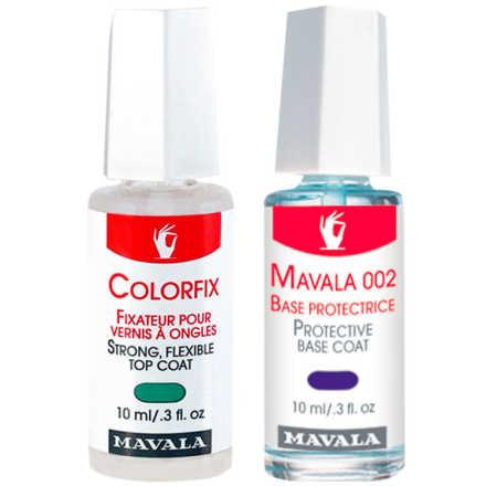 Mavala Protective Base Coat e Colorfix for Nail Polish Kit (2 Produtos)