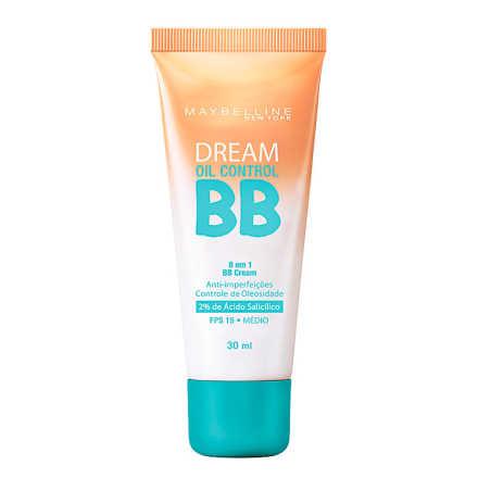 Maybelline Dream Oil Control 8 em 1 Fps 15 Médio - BB Cream 30ml