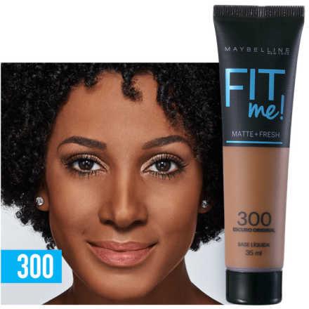 Maybelline Fit Me! Toque Matte + Fresh 300 - Base Líquida 35ml