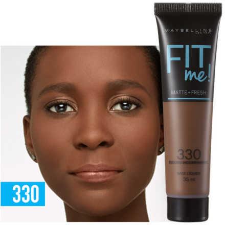 Maybelline Fit Me! Toque Matte + Fresh 330 - Base Líquida 35ml