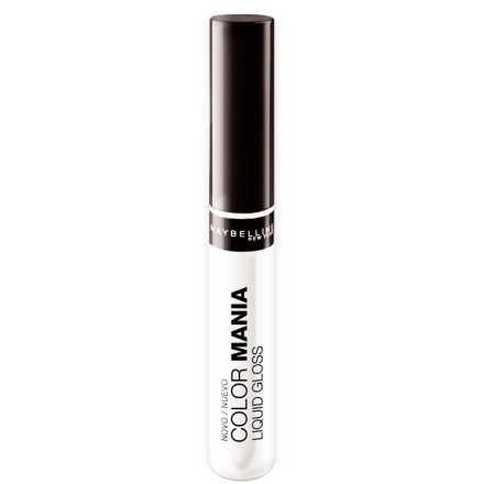 Maybelline Color Mania Liquid 100 Cristal Clear - Gloss Labial 7ml