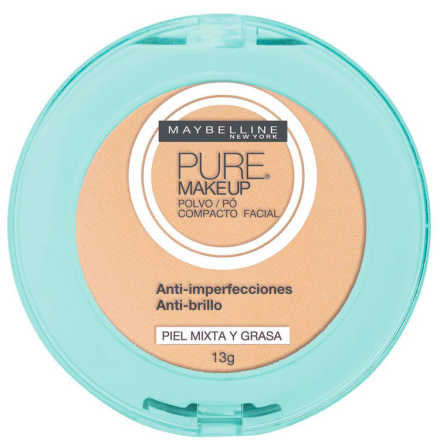 Maybelline Pure Makeup Arena Natural - Pó Compacto 13g