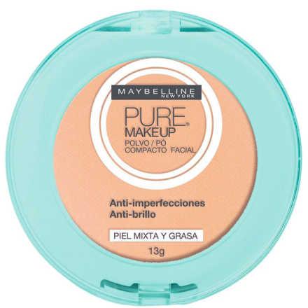 Maybelline Pure Makeup Bege Claro - Pó Compacto 13g