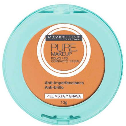 Maybelline Pure Makeup Dourado - Pó Compacto 13g