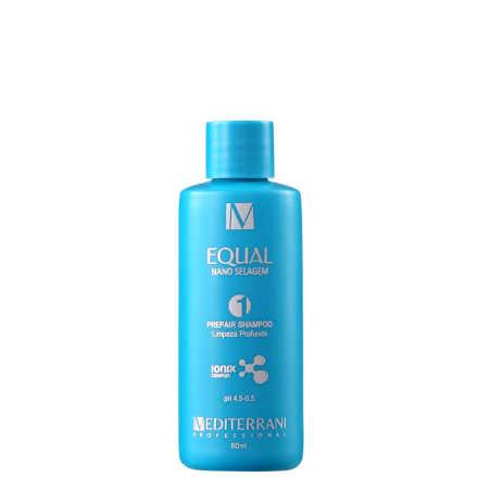 Mediterrani Equal Nano Selagem 1 - Shampoo de Limpeza Profunda 60ml