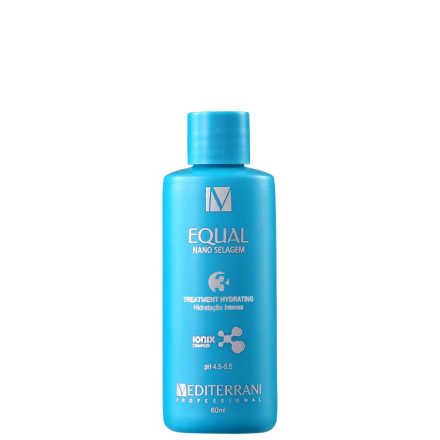 Mediterrani Equal Nano Selagem Treatment Hydrating 3 - Hidratação Intensa 60ml