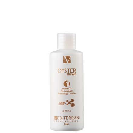 Mediterrani Oyster Repair - Shampoo Pré Tratamento 60ml