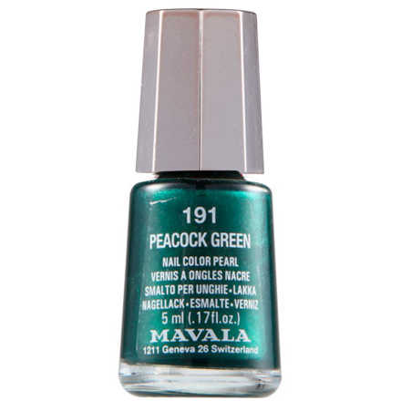 Mavala Mini Color Peacock Green - Esmalte 5ml