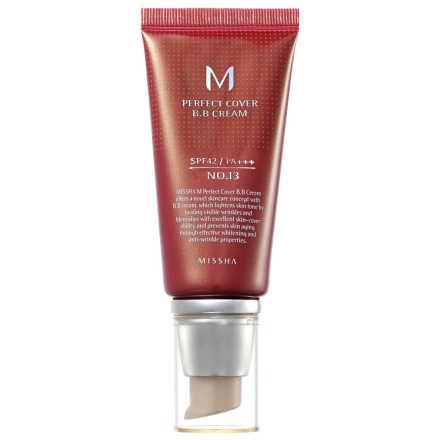 Missha M Perfect Cover Nº 13 Bright Beige - BB Cream 50ml