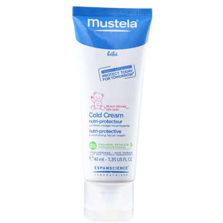 Mustela Bebé Cold Cream - Creme Nutritivo e Protetor 40ml