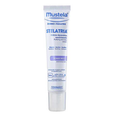 Mustela Dermo-Pédiatrie Stelatria Crème Réparatrice Assainìssante - Creme Reparador Purificante 40ml