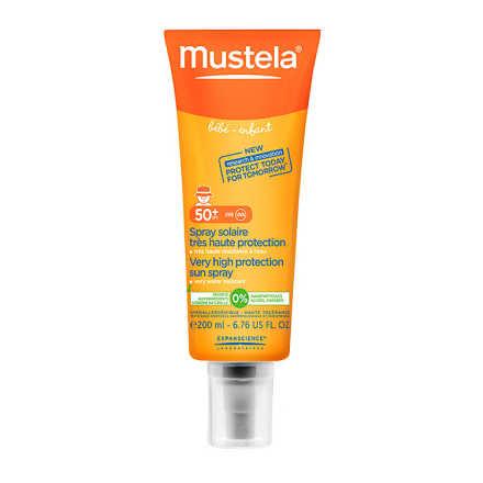 Mustela Solaires Bébé-Enfant FPS 50+ - Protetor Solar Infantil Em Spray 200ml