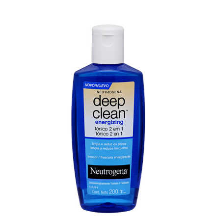 Neutrogena Deep Clean Energizing - Tônico 2 Em 1 200ml