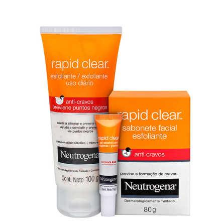 Neutrogena Rapid Clear - Trio Kit (3 Produtos)