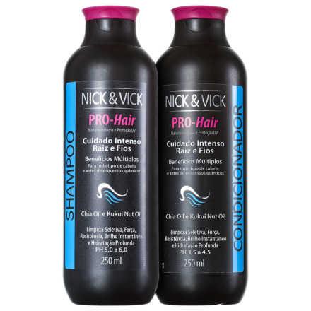 Nick & Vick PRO-Hair Cuidado Intenso Raiz e Fios Kit (2 Produtos)