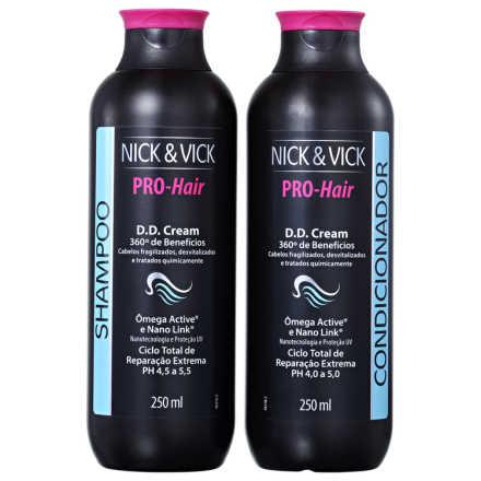 Nick & Vick Pro-Hair D.D Cream Kit (2 Produtos)