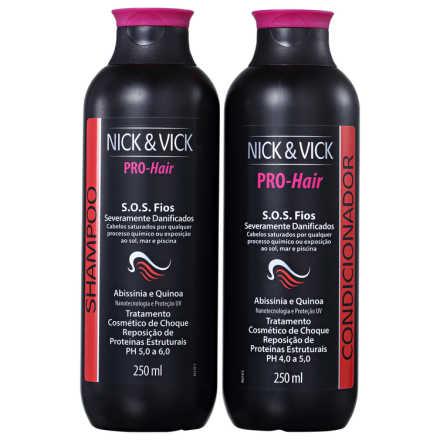 Nick & Vick Pro-Hair S.O.S Fios Kit ( 2 Produtos)
