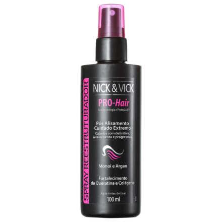 Nick & Vick PRO-Hair - Spray Reestruturador 100ml