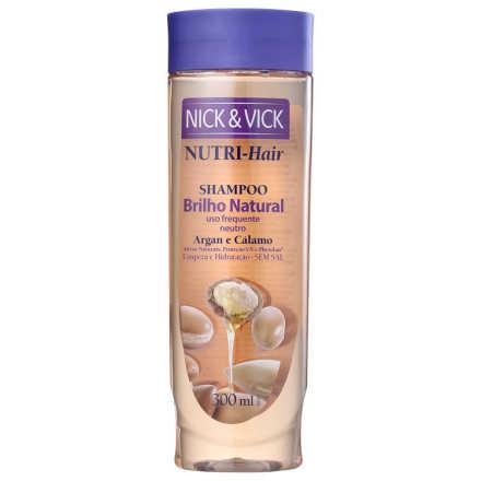 Nick & Vick NUTRI-Hair Brilho Natural - Shampoo 300ml