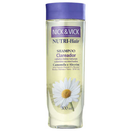 Nick & Vick NUTRI-Hair Clareador - Shampoo 300ml