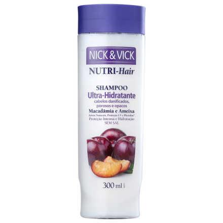 Nick & Vick NUTRI-Hair Ultra-Hidratante - Shampoo 300ml