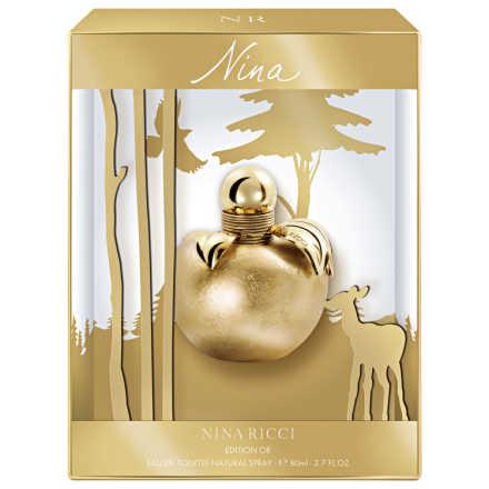 Nina Edition D'Or Nina Ricci Eau de Toilette – Perfume Feminino 80ml