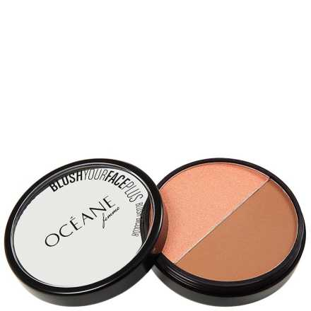 Océane Femme Blush Your Face Brown Orange - Blush em Pó 9,3g