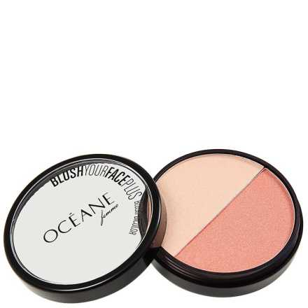Océane Femme Blush Your Face Coral Peach - Blush em Pó 9,3g