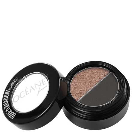 Océane Femme Duo Eye Shadow Sombra Duo #Black #2321 - Sombra 1,8g