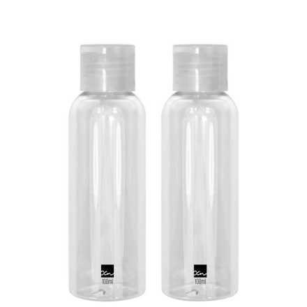 Océane Femme Frascos Para Viagem Transparentes - Frascos Plásticos 2 un