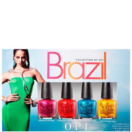 OPI Brazil Collection Beachsandies Kit (4 Miniaturas)