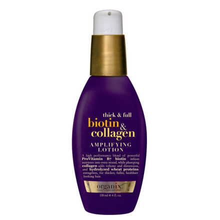Organix Biotin & Collagen Amplifying Lotion - Loção de Volume 118ml