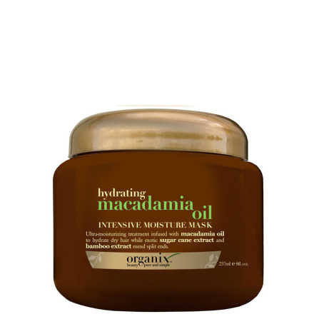 Organix Macadamia Oil Intense Moisture Mask - Máscara 237ml