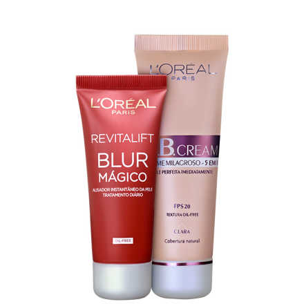 L'Oréal Paris Perfect Skin Kit Claro (2 Produtos)