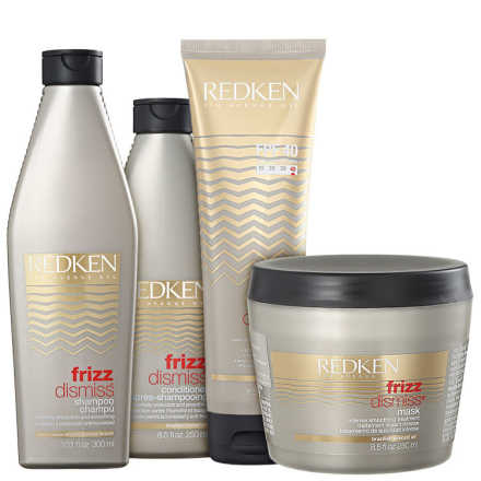 Redken Frizz Dismiss Rebel Tame FPF40 Kit (4 Produtos)