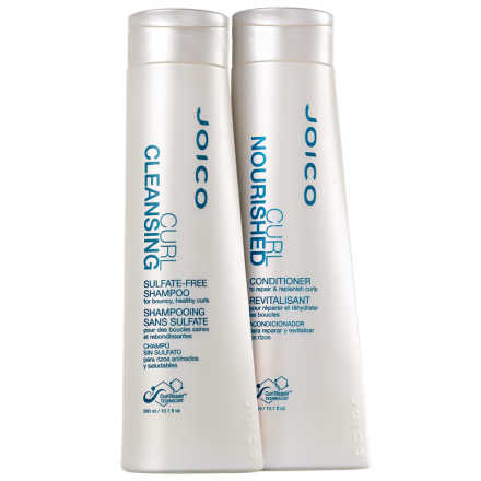 Joico Curl Cleansing Nourished Duo Kit (2 Produtos)