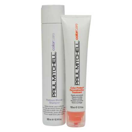 Paul Mitchell Color Care Blonde Reconstruct Kit (2 Produtos)