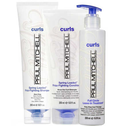 Paul Mitchell Curls Spring Loaded Full Circle Kit (3 Produtos)