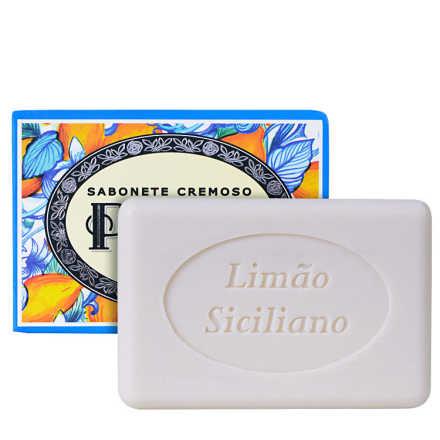Phebo Mediterrâneo Limão Siciliano - Sabonete Em Barra 100g