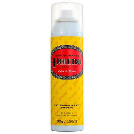 Phebo Odor de Rosas - Desodorante Aerosol 150ml