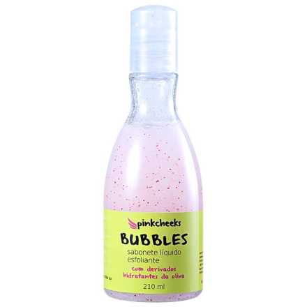 Pink Cheeks Bubbles - Sabonete Esfoliante 210ml