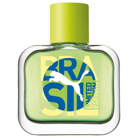 Green Puma Brasil Limited Edition Eau de Toilette - Perfume Masculino 40ml