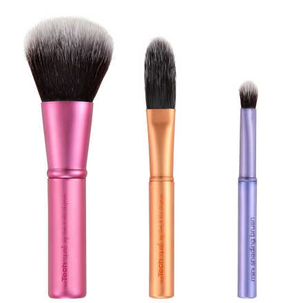 Real Techniques Mini Brush Trio Kit (3 Produtos)