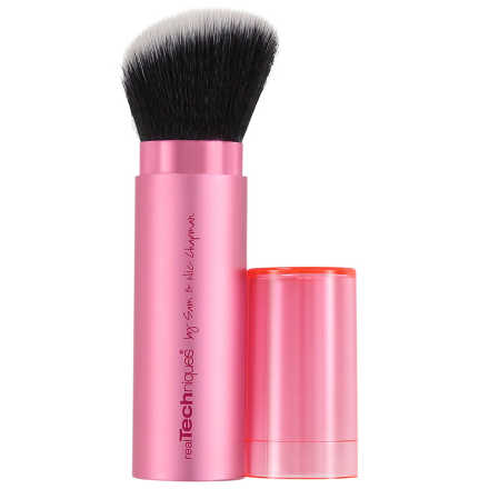 Real Techniques Retractable Kabuki Brush – Pincel Retrátil para Rosto
