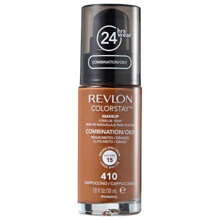 Revlon ColorStay Pele Mista e Oleosa Cappuccino - Base Líquida 30ml