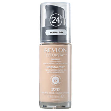 Revlon Colorstay Pele Normal e Seca Natural Beige - Base Líquida 30ml