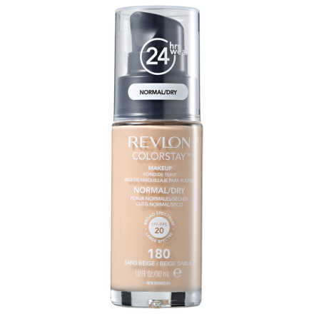 Revlon Colorstay Pele Normal e Seca Sand Beige - Base Líquida 30ml