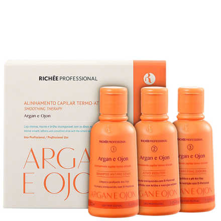 Richée Professional Argan e Ojon Mini Kit (3 Produtos)