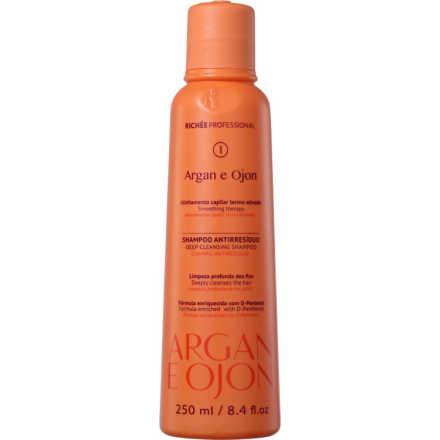 Richée Professional Argan e Ojon - Shampoo Antirresíduos 250ml